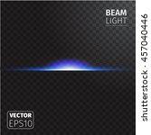 realistic beam light on...   Shutterstock .eps vector #457040446