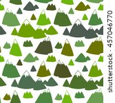 seamless vector pattern with... | Shutterstock .eps vector #457046770