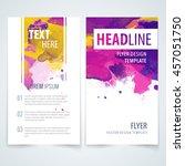 design elements template for... | Shutterstock .eps vector #457051750