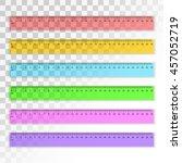 set of transparent plastic 30...   Shutterstock .eps vector #457052719