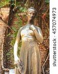 Famous Bronze Statue Of Juliet...