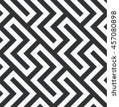 abstract zigzag striped... | Shutterstock .eps vector #457080898