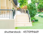 outdoor stair walk way in park | Shutterstock . vector #457099669