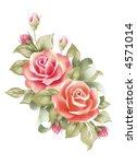 red roses | Shutterstock . vector #4571014