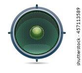 vector illustration audio... | Shutterstock .eps vector #457113589