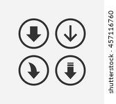 download files   cloud storage... | Shutterstock .eps vector #457116760