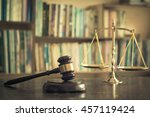 legal  litigation and... | Shutterstock . vector #457119424