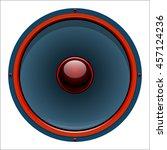 vector illustration audio... | Shutterstock .eps vector #457124236