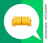 couch icon | Shutterstock .eps vector #457131994