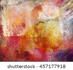abstract multicolor layer... | Shutterstock . vector #457177918