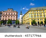 brno  czech republic   april 29 ... | Shutterstock . vector #457177966