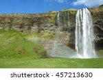 seljalandsfoss 7 | Shutterstock . vector #457213630