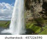 seljalandsfoss 4 | Shutterstock . vector #457226590