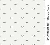 hand drawn seamless pattern... | Shutterstock .eps vector #457227178