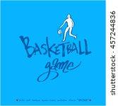 sports poster | Shutterstock .eps vector #457244836