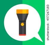 flashlight icon | Shutterstock .eps vector #457267183