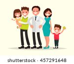 family dentist or doctor. the... | Shutterstock .eps vector #457291648