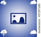 images icon vector. flat icon...