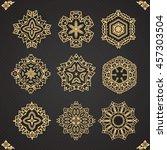 design elements graphic thai...   Shutterstock .eps vector #457303504