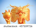 the dragon is the symbol of... | Shutterstock . vector #457339726
