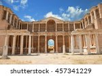 ruins in sardes ancient city ... | Shutterstock . vector #457341229
