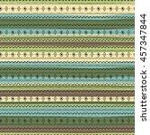 uncommon ethnic pattern.... | Shutterstock .eps vector #457347844