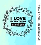 vector illustration of ornate... | Shutterstock .eps vector #457357468