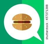 hamburger icon | Shutterstock .eps vector #457371388