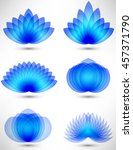 design elements set  | Shutterstock .eps vector #457371790