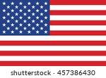 united states flag | Shutterstock .eps vector #457386430