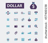 dollar icons | Shutterstock .eps vector #457400158