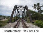 old railroad  | Shutterstock . vector #457421170