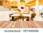 look out from the table  blur... | Shutterstock . vector #457430080