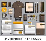 vector illustration of a set of ... | Shutterstock .eps vector #457433293