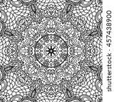 abstract vector decorative... | Shutterstock .eps vector #457438900