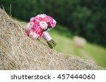 bridal bouquet   Shutterstock . vector #457444060