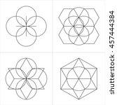 Geometrical Line Ornaments. Se...