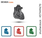 heart icon | Shutterstock .eps vector #457449670
