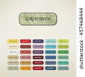 vintage elements set   Shutterstock .eps vector #457468444