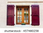Window And Shutter  In The...