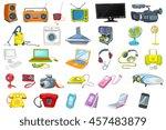 Set Of Household Appliances ...