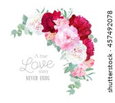 Luxury Floral Crescent Vector...