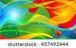 abstract colorful background... | Shutterstock .eps vector #457492444