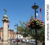 east grinstead  west  sussex uk ... | Shutterstock . vector #457497160