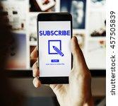 membership accept join us...   Shutterstock . vector #457505839