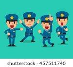 cartoon policeman character...