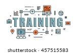 modern vector illustration... | Shutterstock .eps vector #457515583
