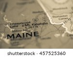 Small photo of Mt. Katahdin. Maine. USA