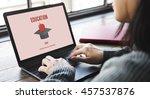 education graduation successful ...   Shutterstock . vector #457537876