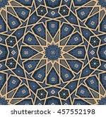 islamic seamless oriental... | Shutterstock .eps vector #457552198